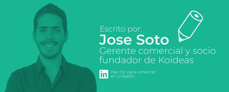 Jose Soto, Gerente comercial de Koideas