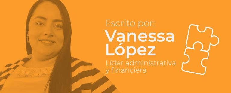 Koideas - Vanessa López - Líder administrativa y financiera