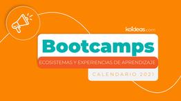 ¡Agéndate para nuestros nuevos Bootcamps de aprendizaje!