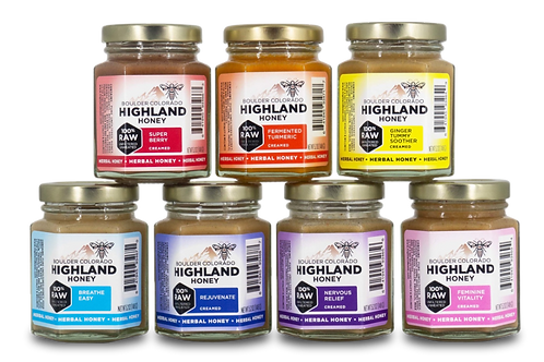 Highland Honey HERBAL CREAMED