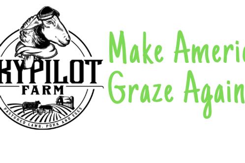 Make America Graze Again Sticker