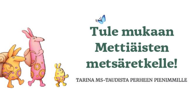 Mettiäisten metsäretki -lastenkirja on julkaistu