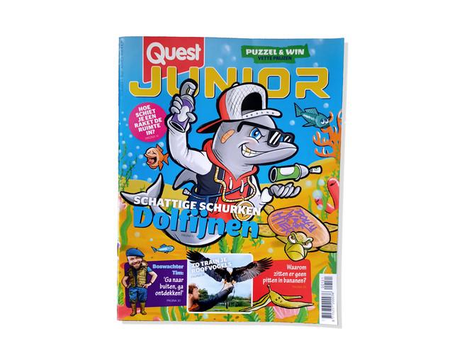 Cover voor Quest Junior