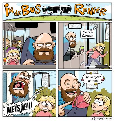 In de Bus met Reniér
