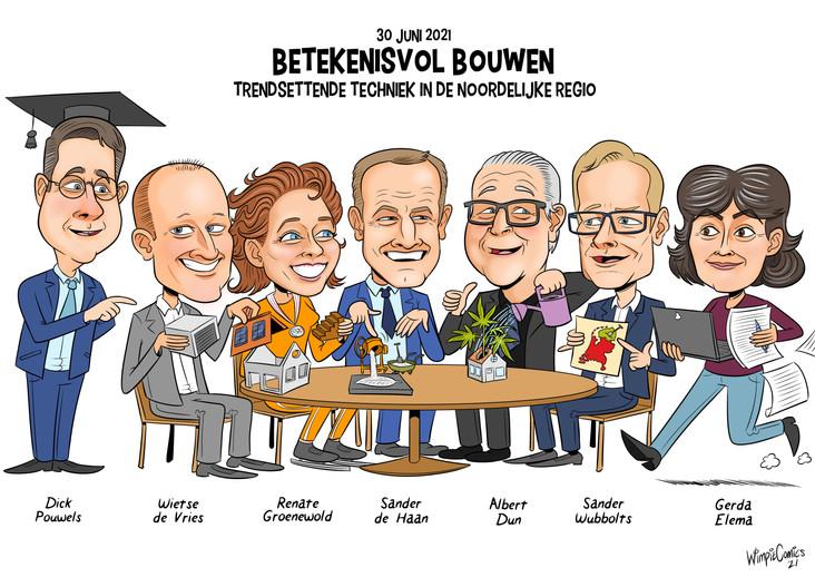 Cartoon Betekenisvol Bouwen