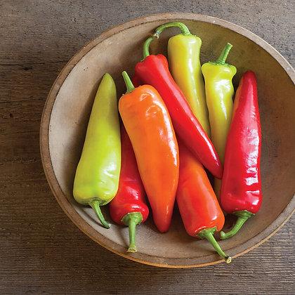 'Hungarian Hot Wax' Hot Pepper