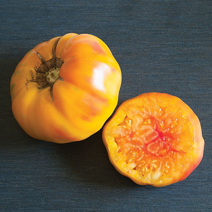 'Striped German' Heirloom Tomato