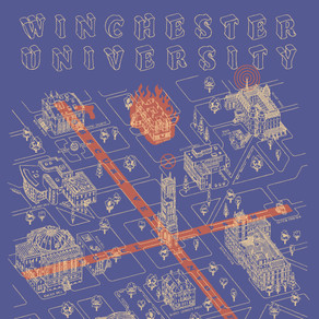 Winchester Map T-Shirts
