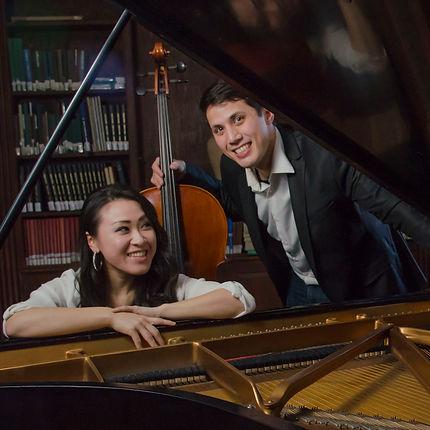 Barcus-Urayama, Jeremiah Barcus, Rui Urayama, cello, piano, duo, Sonatas, Boston, MA, Boston Conservatory, Boston Conservatory at Berklee, Rhonda Rider