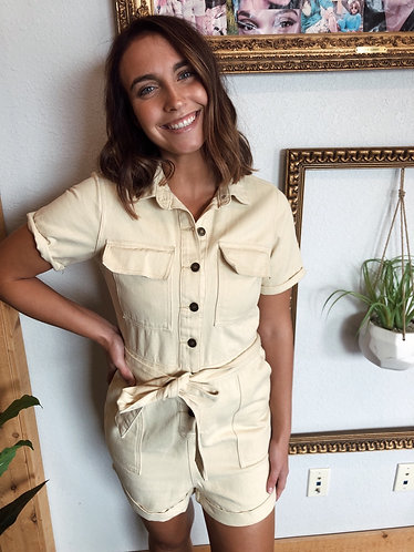 The Lizzie Utility Romper