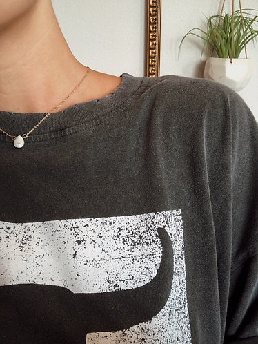 Teardrop Howlite Necklace