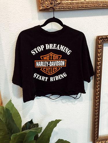 Start Riding Harley Tee