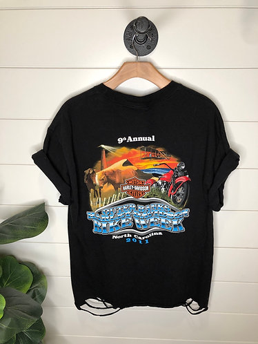 Outer Banks Harley tee