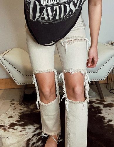 Sz 26 high waist vintage jeans