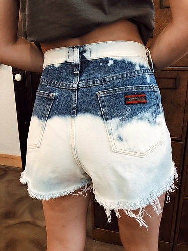 Size 31 bleach shorts