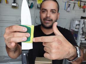 Como lavar un cuchillo correctamente.