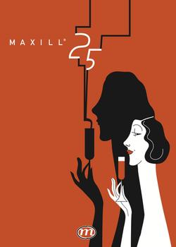 Maxill 25th anniversary poster