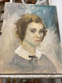 Original Oil Portrait