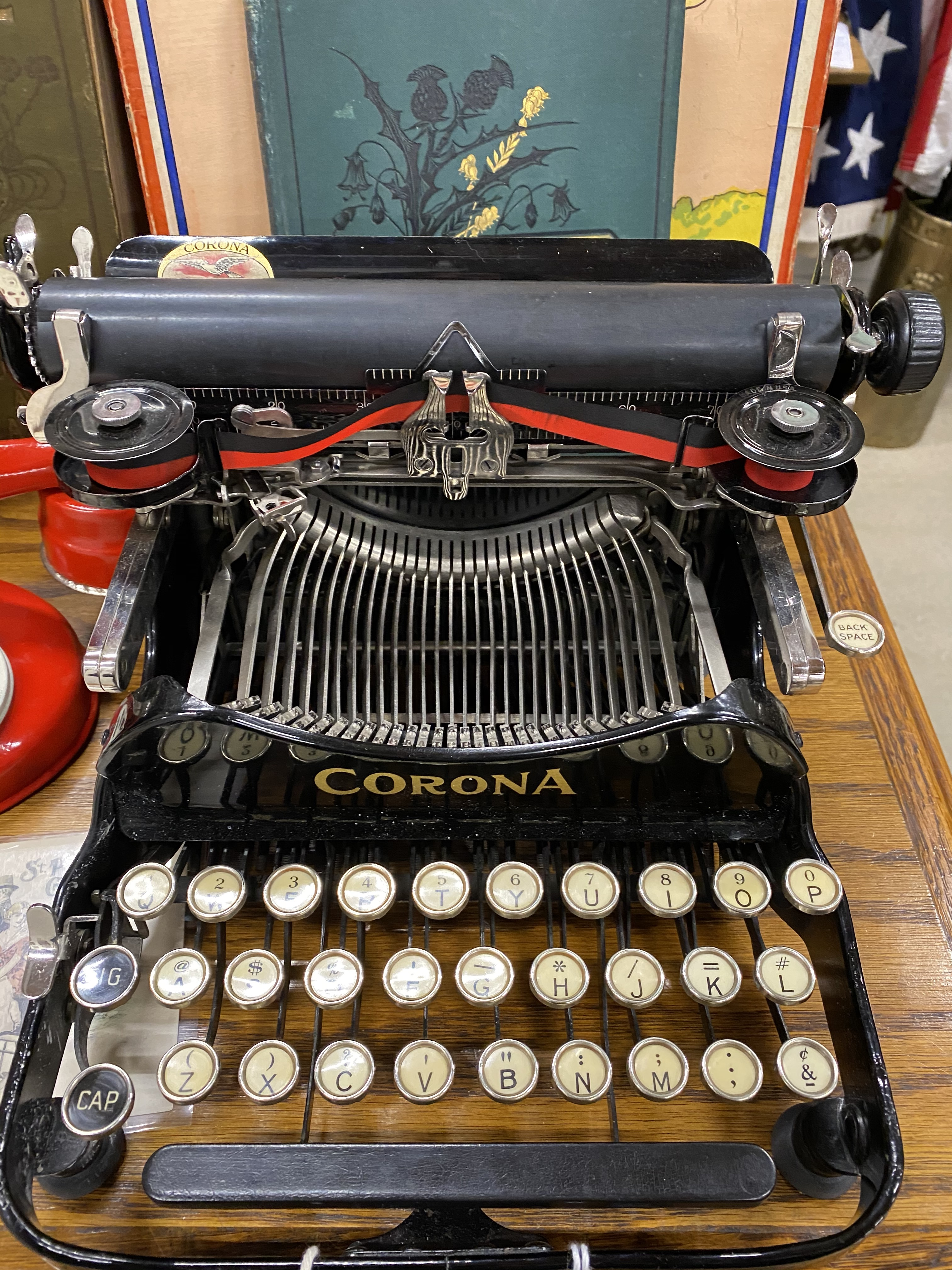 Corona 3 Folding Portable Typewriter, C 1917