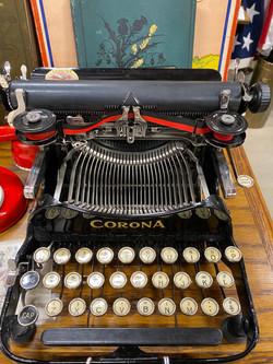Corona 3 Folding Portable Typewriter, C 1917