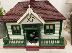 Folk Art Christmas House
