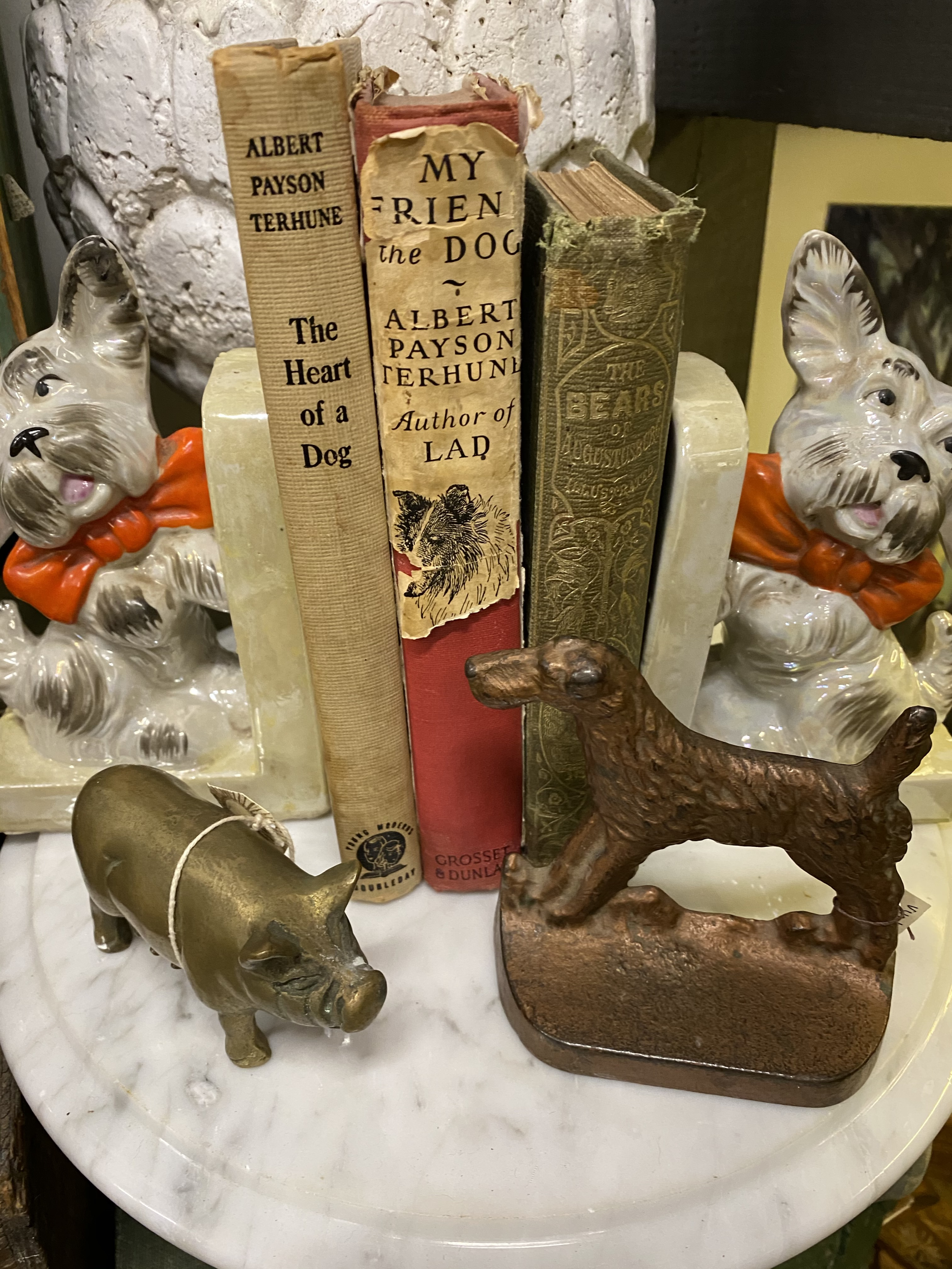 Vintage Books & Dogs