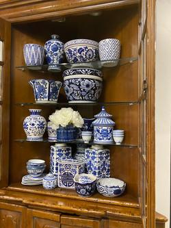 Blue/White Jars