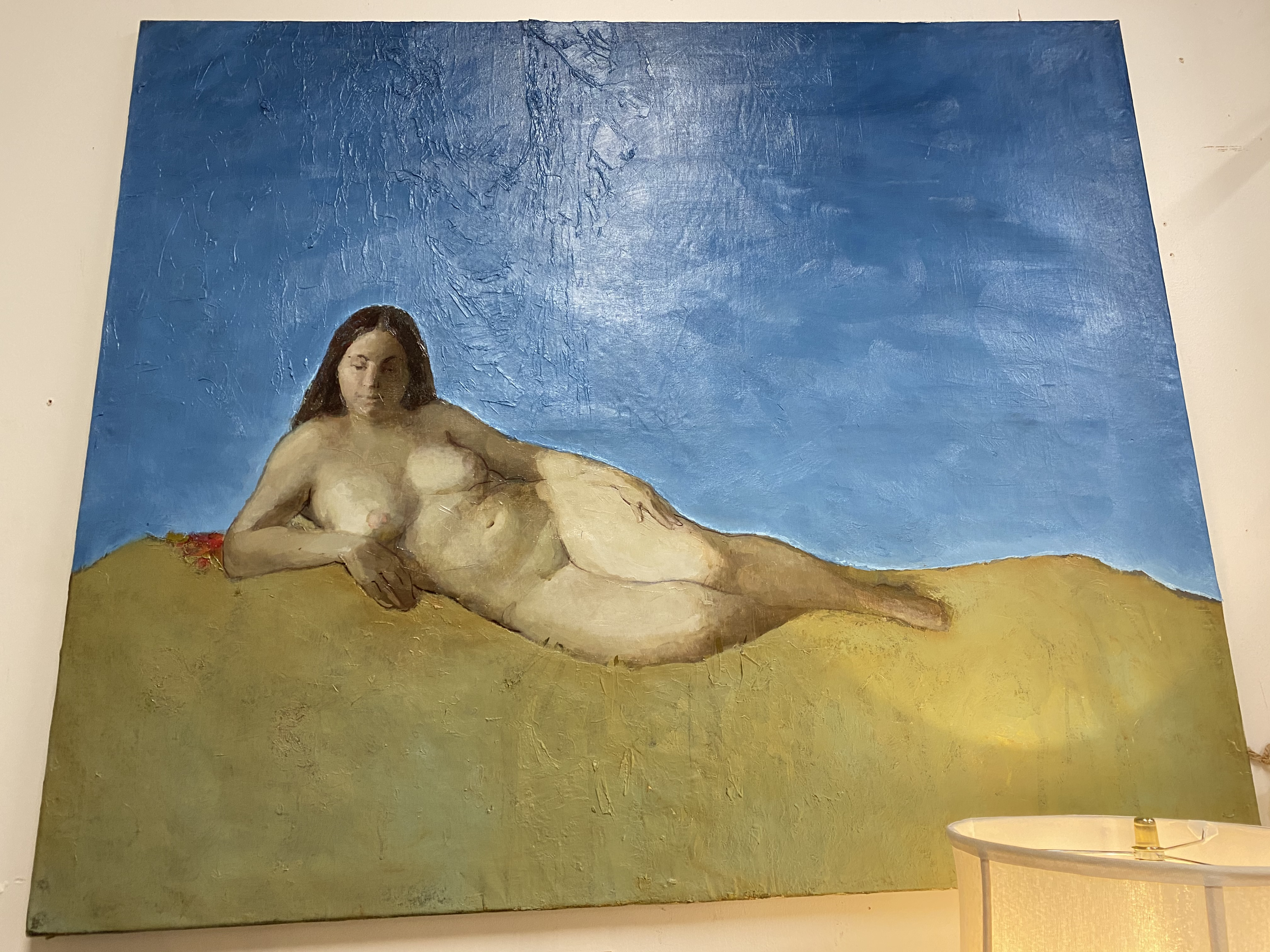 Ukranian Nude Oil Painting