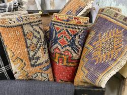 Small Vintage Turkish Rugs