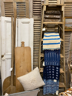 Shutters, Pillows, Breadboards, and Fabric