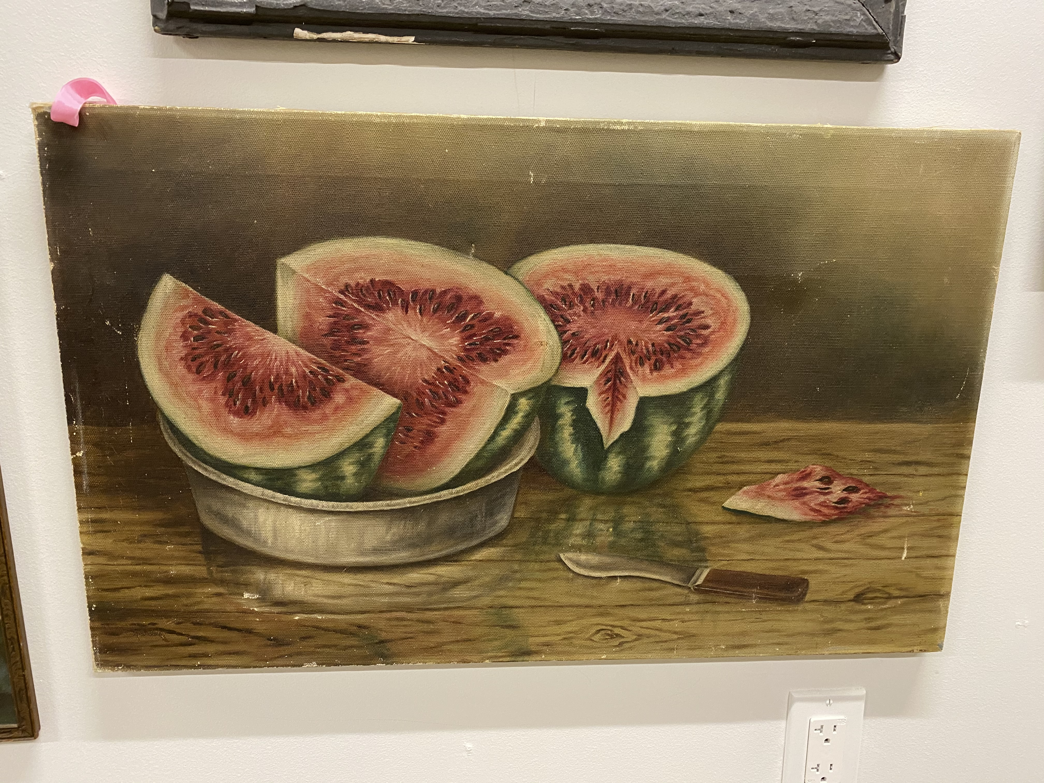 Watermelon Oil on Canvas