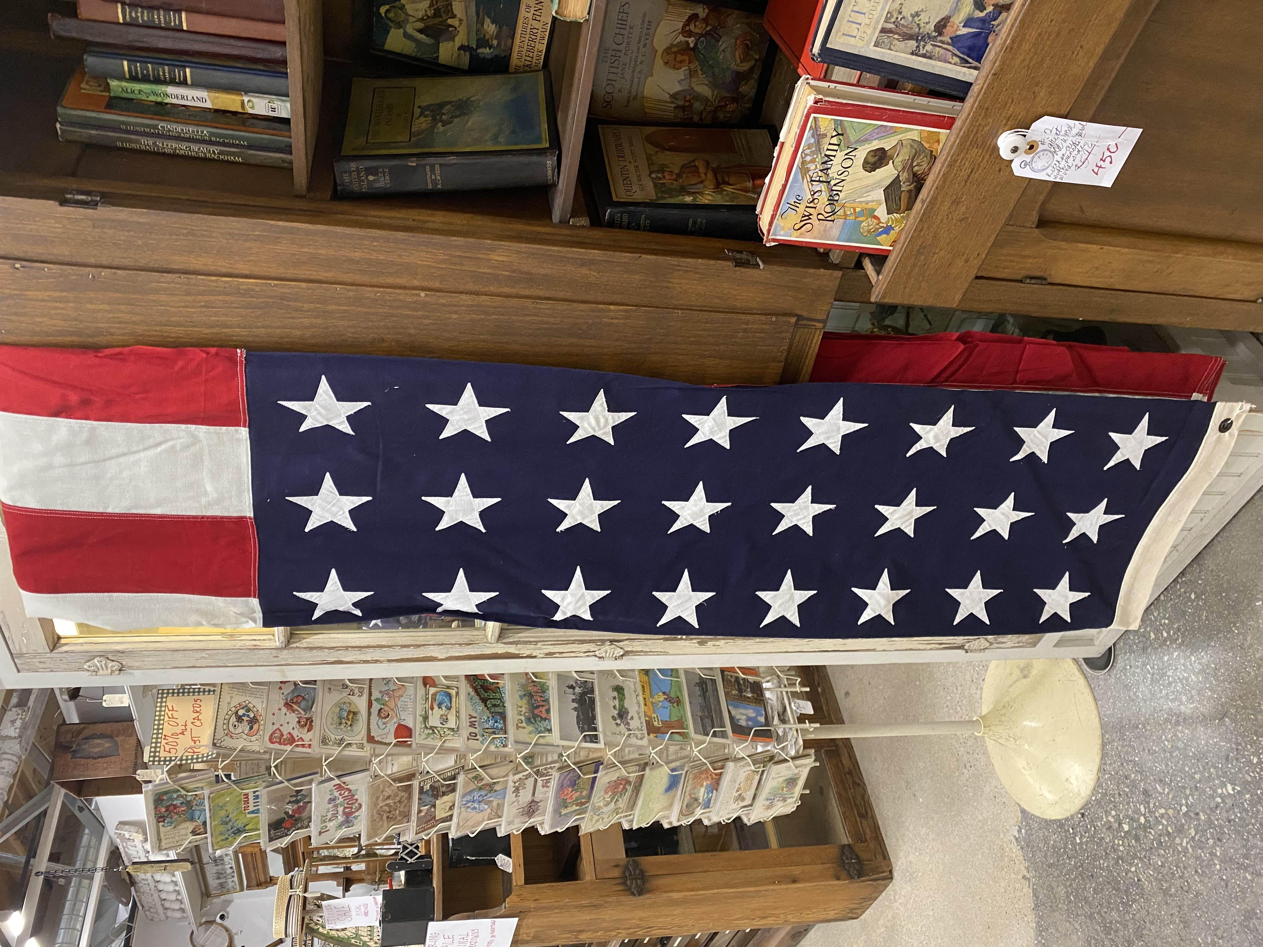 Vintage 48 Star Flag