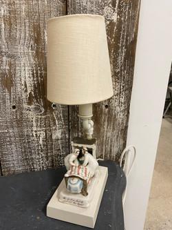 Vintage English Ceramic Night Lamp