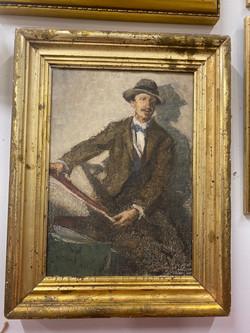 Pastel Self-Portrait