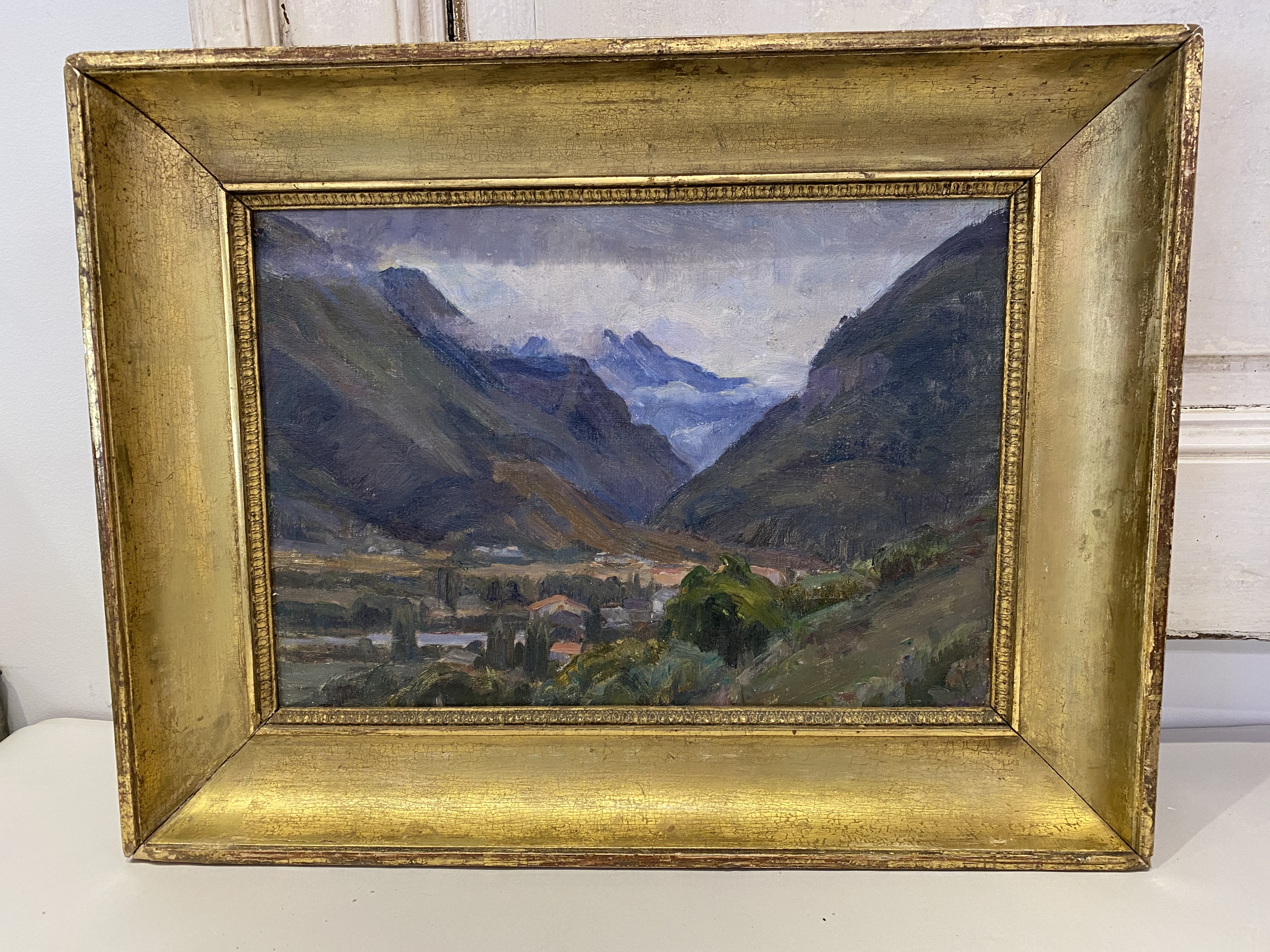 Vintage French Landscape