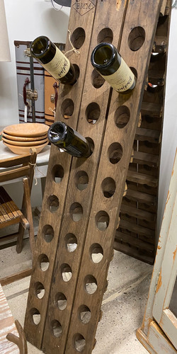 Old French Riddling Rack