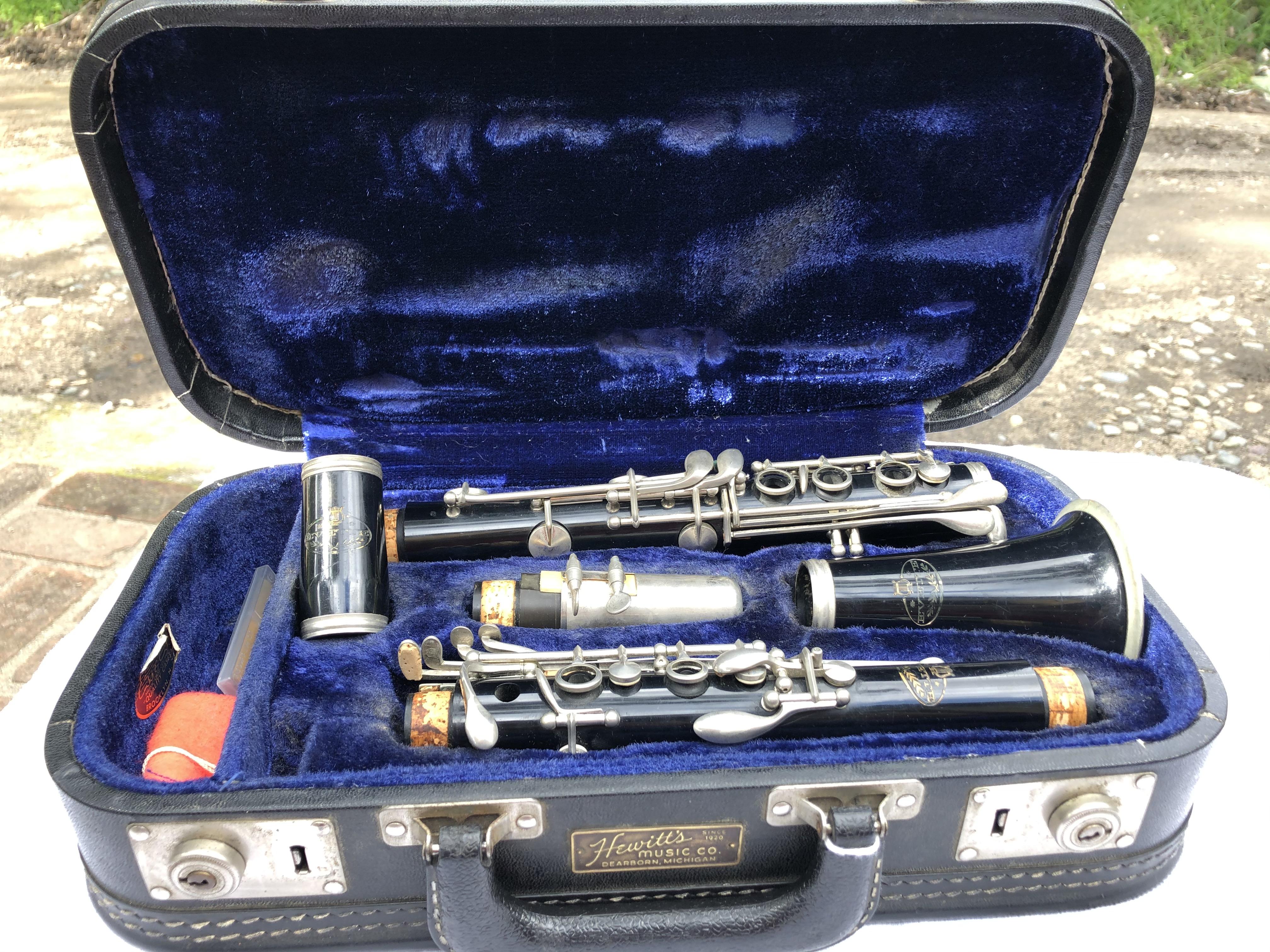 Vintage Evette Clarinet