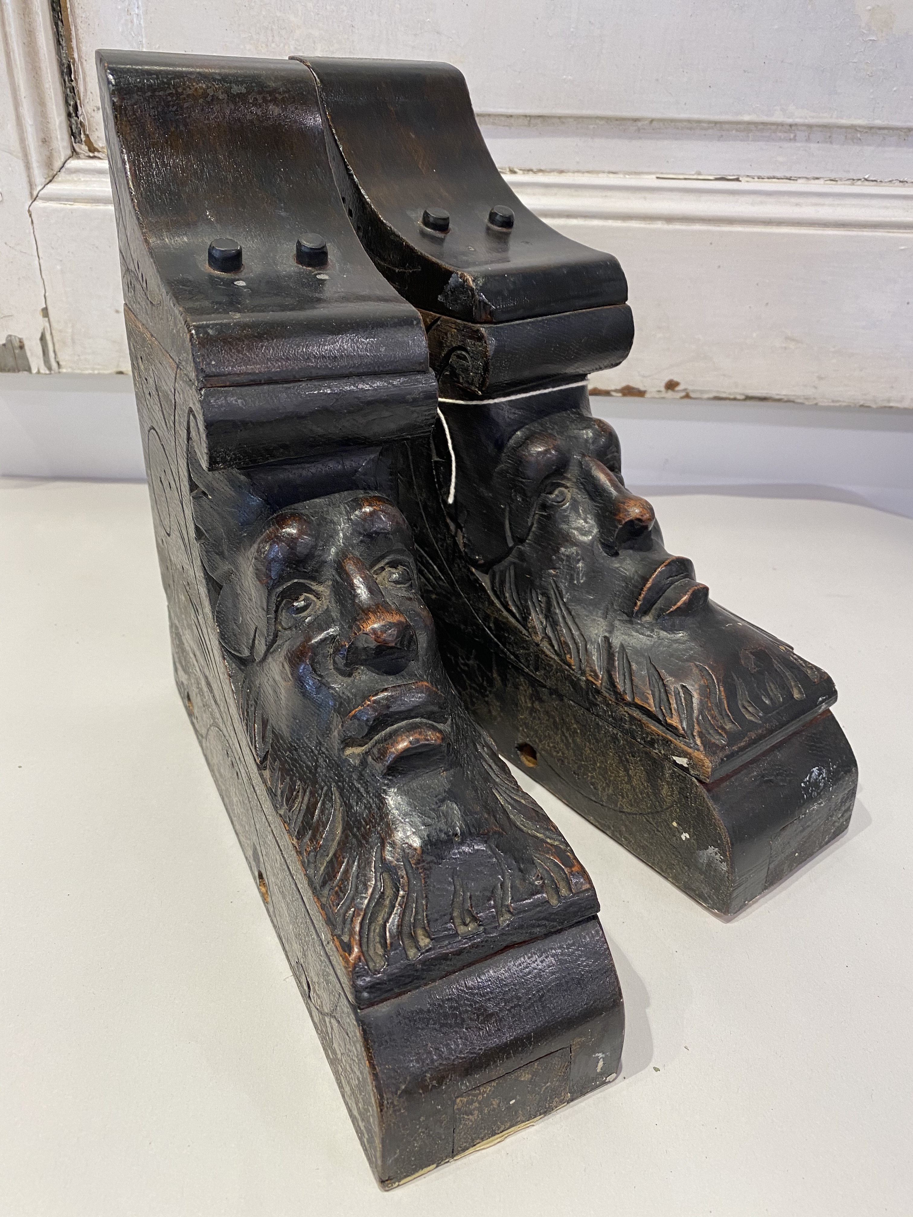 Pair of Vintage, Architectural Corbels