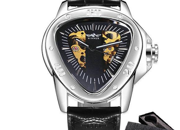 Triangle Skeleton Wristwatch