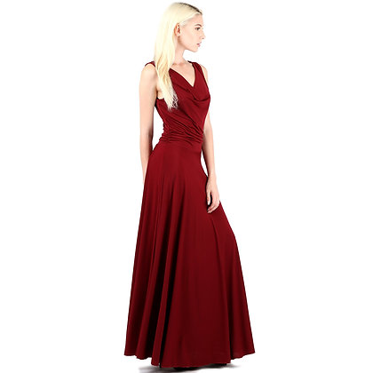 Evanese Women's Classic Elegant Sexy Long Gown Sleeveless Dress