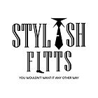 Stylish Fitts Logo