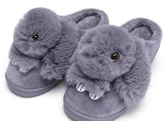 Cute Rabbit Flat Slippers