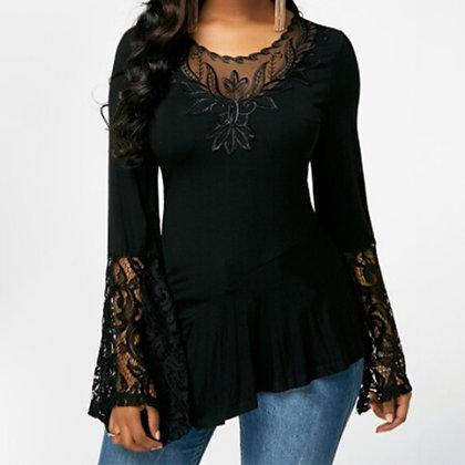 Tops Shirt Plus Size