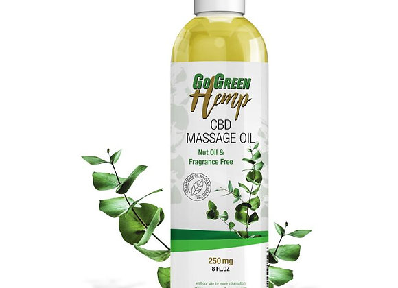 Hemp CBD Massage Oil 250mg