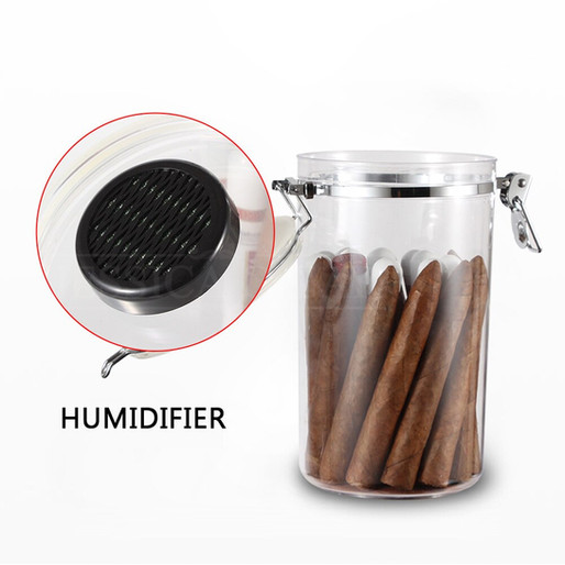 Humidor Transparent Big Capacity