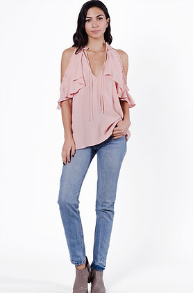 Grace Cold Shoulder Blouse