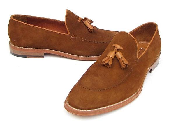 Tassel Loafer Suede Shoe