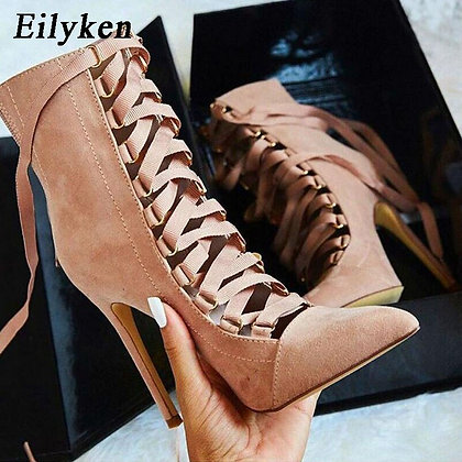 Punk Women Ankle Boot