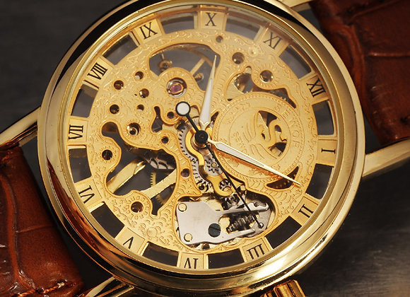 Classic Luxury Gold Watch