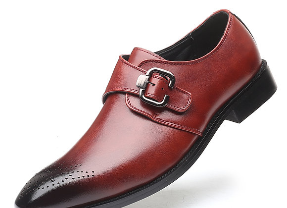 Men Flats Leather Oxford
